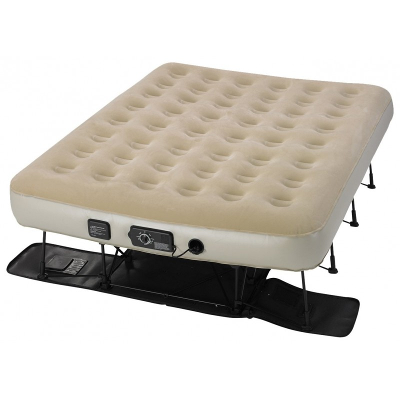 EZbed  Queen Bed with Never Flat Pump SOLD