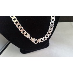 """Sterling Silver - HEAVY ITALY Miami Cuban Link Chain 20"""""""