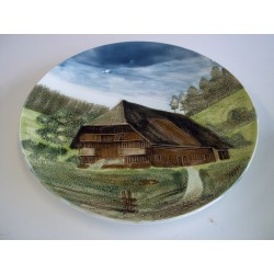 Porcelan Relief Plate Dish...