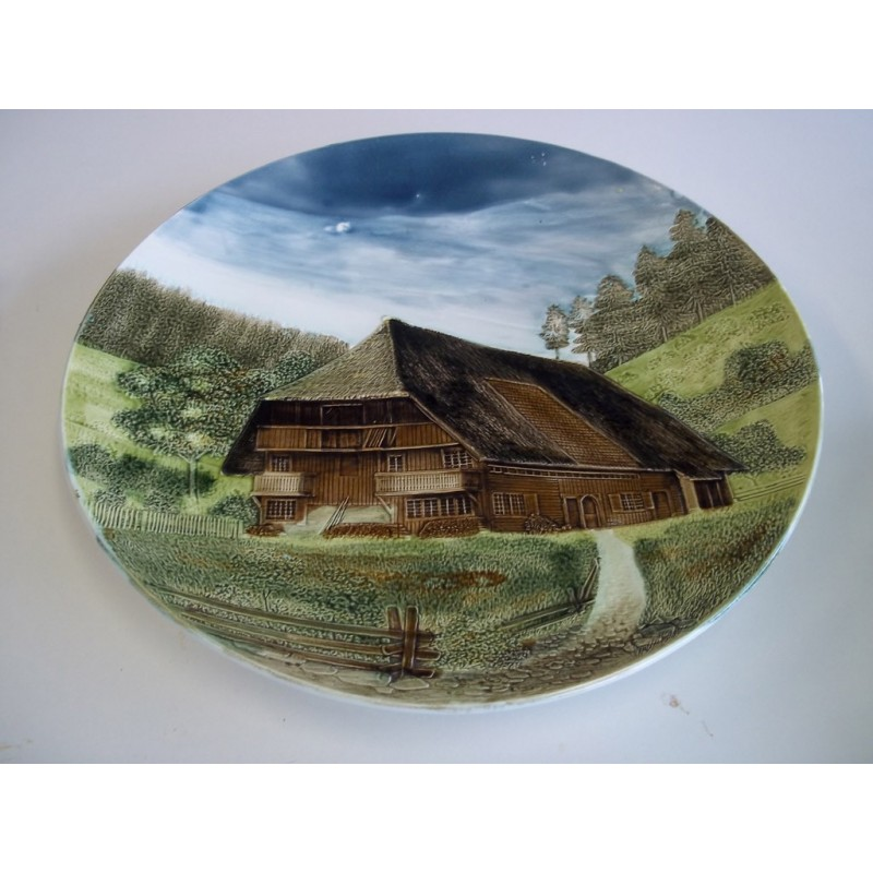 Porcelan Relief Plate Dish Of Schwarzwald   SOLD