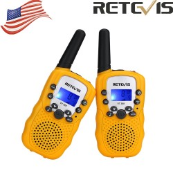 YELLOW 2x Walkie Talkie...